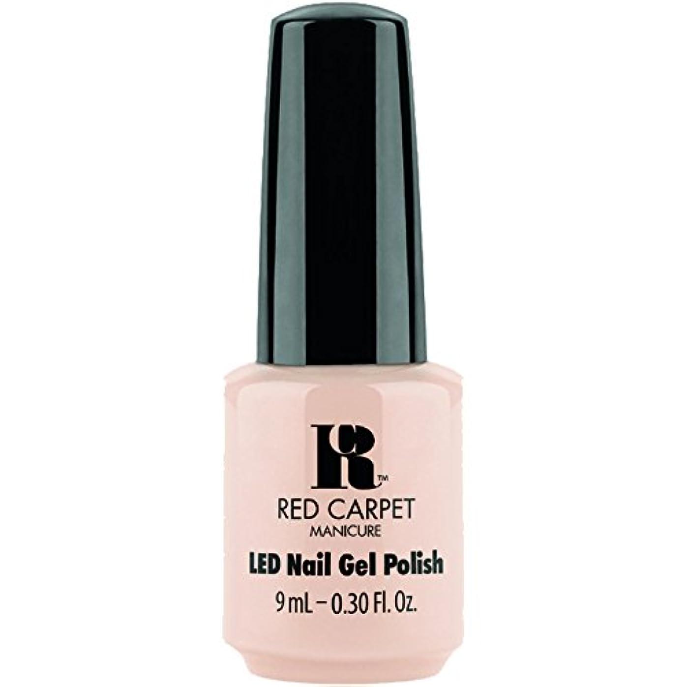 チューブ蒸発バルセロナRed Carpet Manicure - LED Nail Gel Polish - Oh So Posh - 0.3oz / 9ml