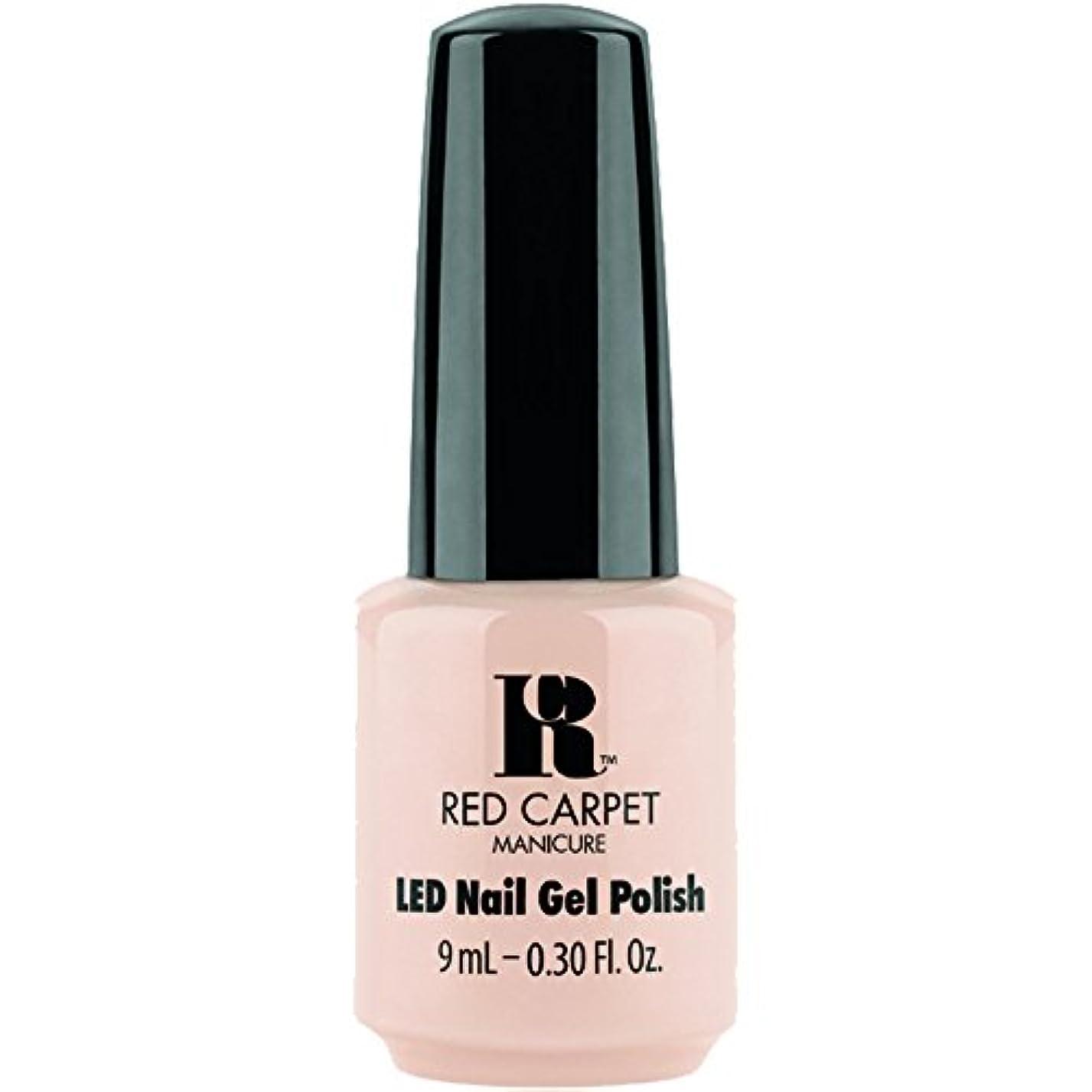コマンド高度より平らなRed Carpet Manicure - LED Nail Gel Polish - Oh So Posh - 0.3oz / 9ml