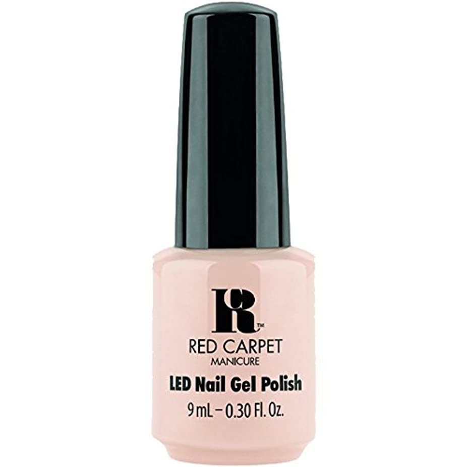 水曜日最終安西Red Carpet Manicure - LED Nail Gel Polish - Oh So Posh - 0.3oz / 9ml