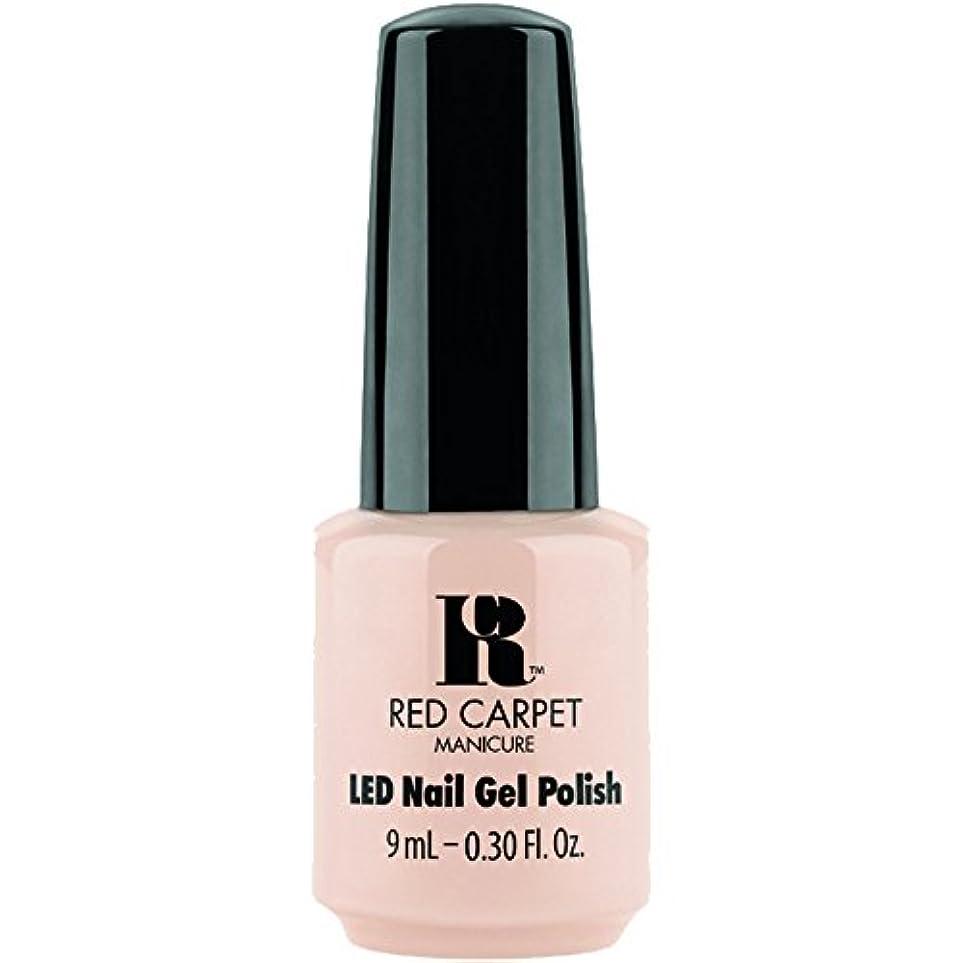 ブロー正当な粘性のRed Carpet Manicure - LED Nail Gel Polish - Oh So Posh - 0.3oz / 9ml