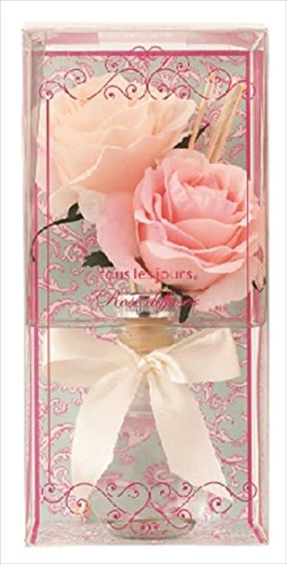 エッセンスすべき変形kameyama candle(カメヤマキャンドル) ローズディフューザー ディフューザー 90x90x180mm 香り:ローズの香り(E3170510)