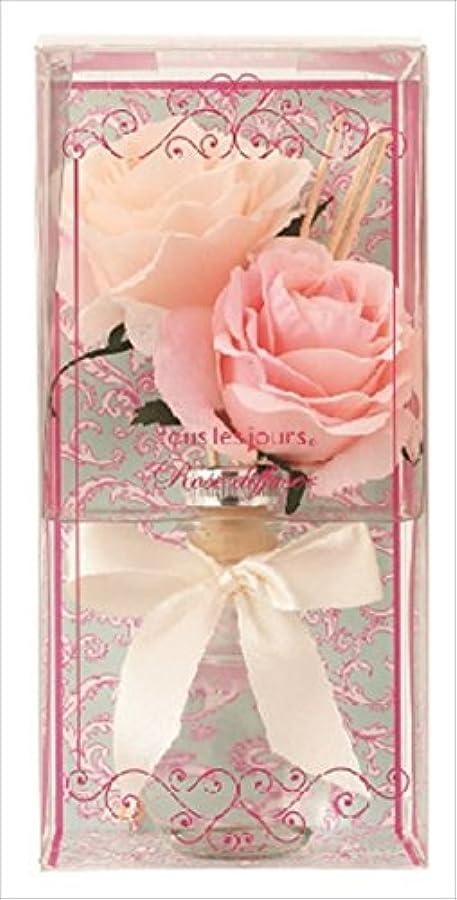 効率的フローティング複雑kameyama candle(カメヤマキャンドル) ローズディフューザー ディフューザー 90x90x180mm 香り:ローズの香り(E3170510)