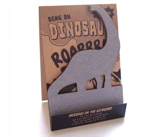 ☆HI MOJIMOJI(ハイモジモジ)☆ブラキオサウルスの「デングオン」★Deng On/Brachiosaurus★