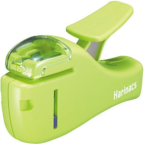 コクヨ ホチキス 針なしステープラー ハリナックス コンパクト 5枚とじ グリーン SLN-MSH205LG