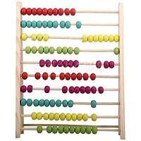 木製Bead Abacusカウント数数学教育Preschool Kids Toyギフト