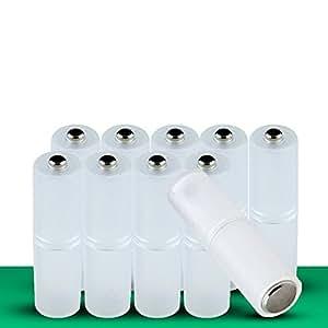 YideaHome 電池変換アダプター 電池スペーサー 単4形電池を単3形電池に変換 10個セット