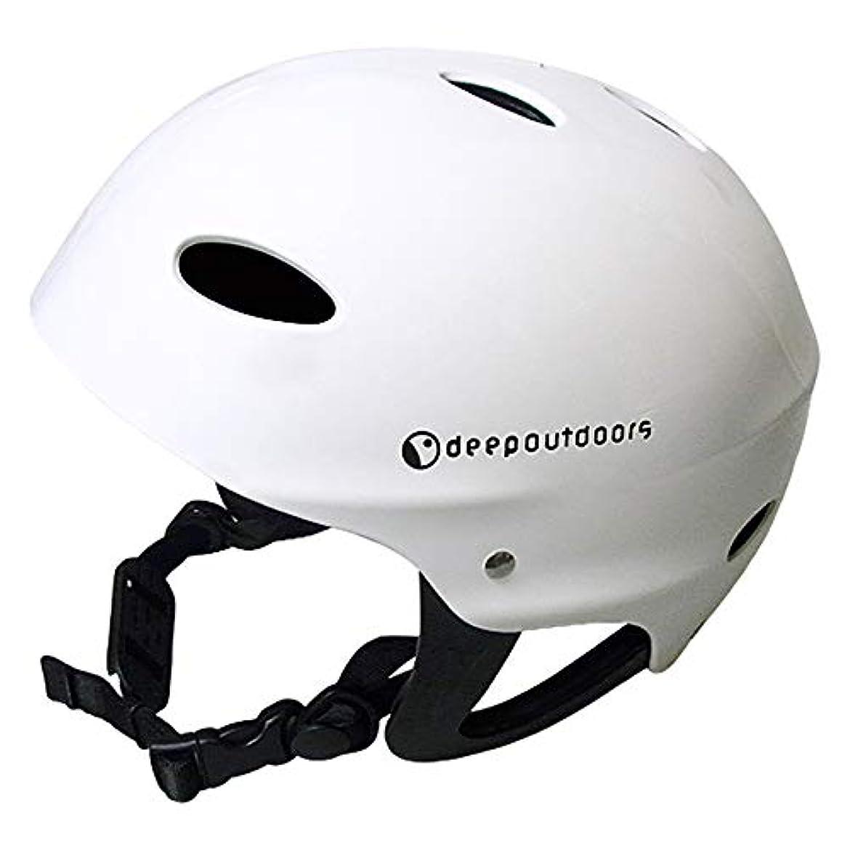 暴動バンドクレーターdeepoutdoors ディープアウトドア ヘルメット マウンテンバイク スケボー スケートボード BMX ラフティング キャニオニング スポーツヘルメット カヌー カヤック 登山 クライミング ウォータースポーツヘルメット安全保護 男女兼用 メンズ レディース 耳ガードあり