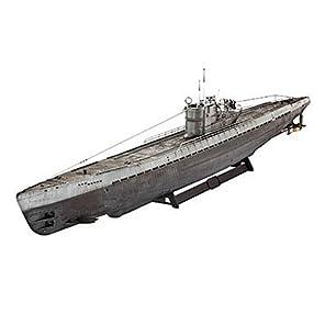 Revell レベル 05114 ドイツ 潜水艦 Uボート Type IX C (U 505 Late) 1:72 [並行輸入品]