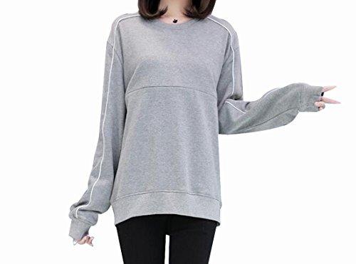 [해외](마세루) Marshel 출산 탑스 스웨터 긴 소매 귀여운 멋쟁이 심플/(Machel) Marshel Maternity Tops Sweat Long Sleeve Cute Fashionable Simple