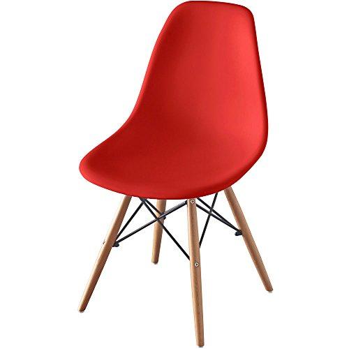 椅子 イームズチェア デザイナーズ リプロダクト レッド PP-623