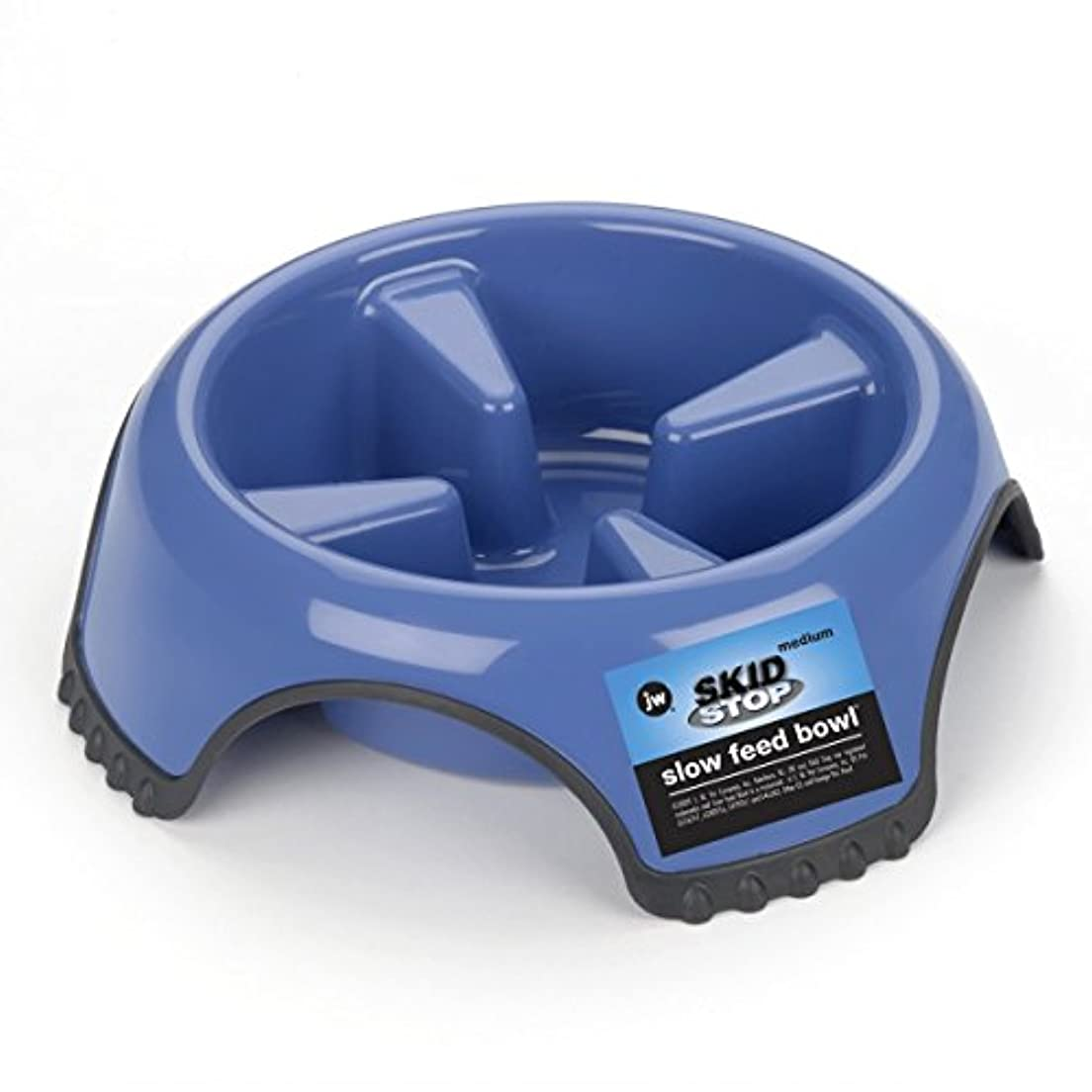 Slow Feed Non-Skid Dog Bowl Large (Assorted) by JW Pet