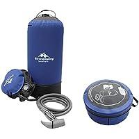 K-outdoor バレル水ストレージバッグ ポータブル インフレータブル シャワーバッグ 11L 折り畳み アウトドア シャワー装置