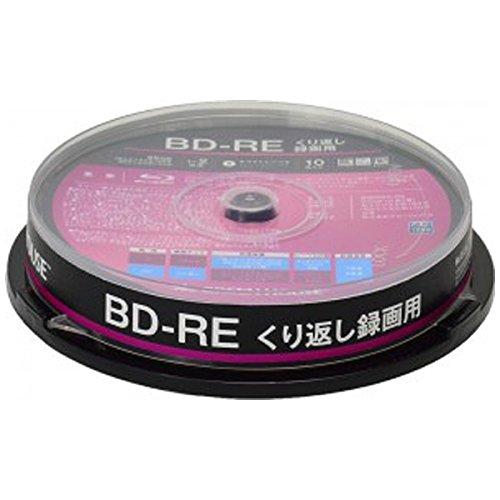 GREEN HOUSE GH-BDRE25A10 ブルーレイディスクメディア くり返し録画用BD-RE 10枚入りスピンドル