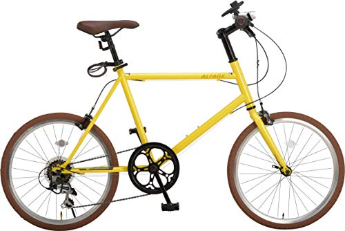 ALTAGE (アルテージ) 自転車 ミニベロ 20インチ 小径車 シマノ製7段変速 AMV-001 B07TMZ2CN6 1枚目
