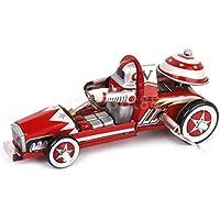 ヴィンテージ風Up Racer Racing CarモデルTin Toy Clockwork Collectibleギフト