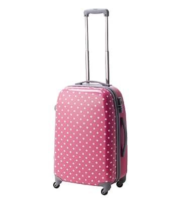 [ココイズム] CO.COISM ポルカハード TSAファスナースーツケース Mサイズ(57cm) マゼンタピンク 74-20094 74-20094 (マゼンタピンク)