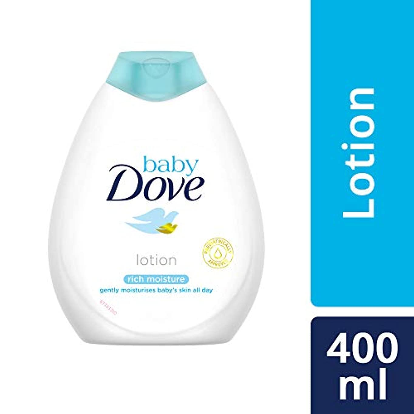 自己ペレットキャンバスBaby Dove Rich Moisture Nourishing Baby Lotion, 400ml