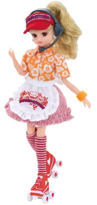 リカちゃん ドレス ハンバーガーキッチンドレスセット