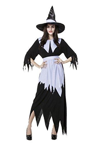 Honeystore ハロウィン衣装 魔女 ドラキュラ 衣装 仮装 コスプレ ハロウィン コスチューム 大人用 レディース