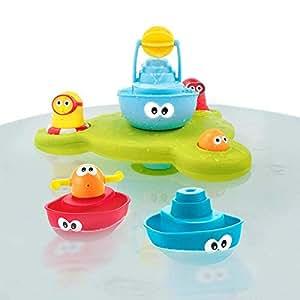 【在庫限り】 ユーキッド 噴水ボート お風呂シャワー 噴水 Yookidoo バストイ 水遊び 知育玩具 ティーレックス bathtoy ベビー 赤ちゃん 子供 女の子 男の子 おしゃれ 可愛い おもちゃ 出産祝い 誕生日 プレゼント