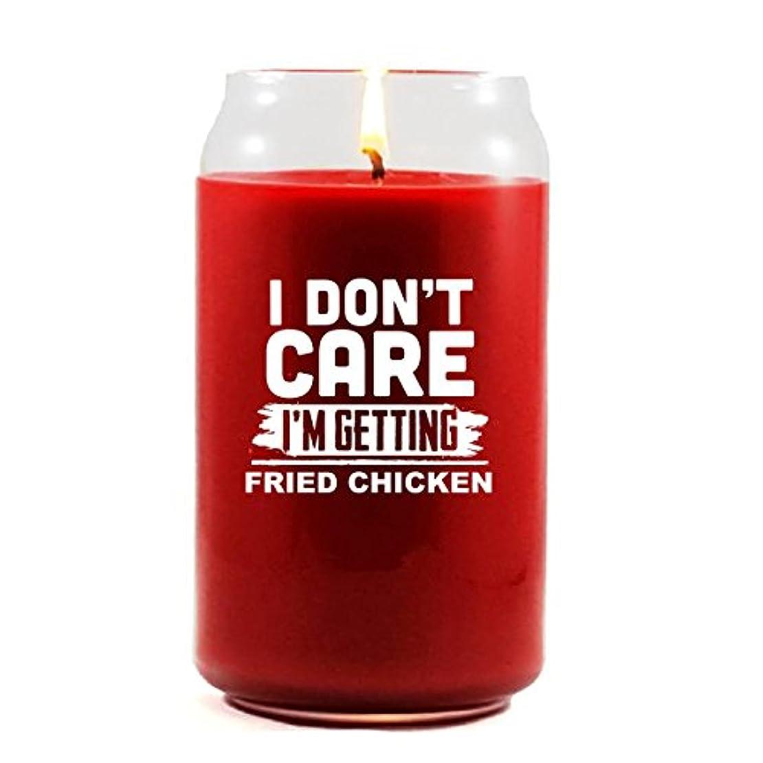 見えない留まるセクションI Don Care I ' m Getting Fried Chicken – Scented candle 16 Oz レッド