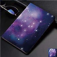 Ipad Pro 11 ケース(2018モデル) 軽量 薄型2つ折スタンド オートスリープ機能付き 全面保護 2018秋発売のiPad Pro 11に対応 スマートカバー紫色の星雲不思議なクラスター爆発モーションスモーキー夢のような