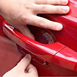 ZaCoo 10 Pcs Car Door Handle Scratches Protective Films Clear Side Sticker Scratches Car Door Protector Films