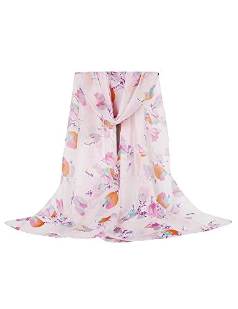 生む線気づく(ジュエシャンジ) Jueshanzj スカーフ 薄手 花柄 優しい肌触り レディース