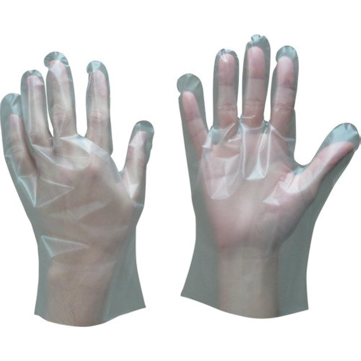 おなじみのユニークなジェム株 東和コーポレーション トワロン ポリエチレン手袋内エンボス 100枚入 M 409-M