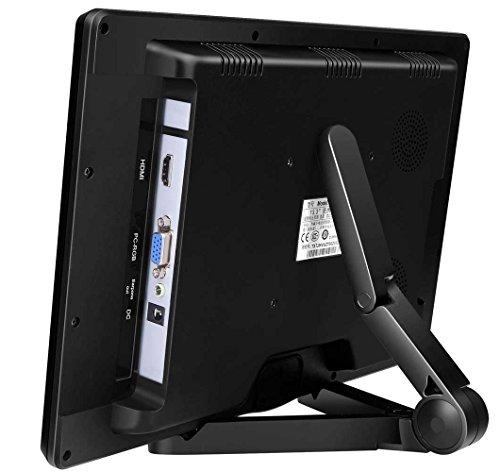 『cocopar®13.3インチIPS全視野モニター1920*1080 LED(16:9)HDMI PS3/PS4/xbox360/Raspberry Pi対応 ゲーム高解像度ビデオモニタディスプレイ1080P/1080iを支持 スピーカ内蔵HDMI/VGA/イヤホン アウトプット PCモニター (13.3インチ)【注文日から二年間保証】』の3枚目の画像