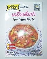 6 Pack Lobo Tom Yum Paste 30g Thai Herbal Food Delicious DIY (30X6)g by Lobo [並行輸入品]