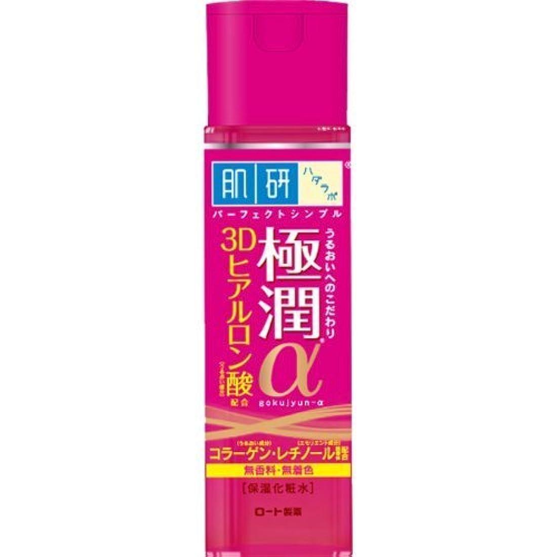 ワイプ簡略化する量肌研(ハダラボ) 極潤α化粧水 170mL