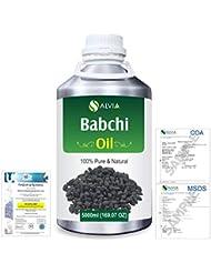 Babchi (Psoralea Corylifolia) 100% Pure Natural Oil 5000ml/169 fl.oz.
