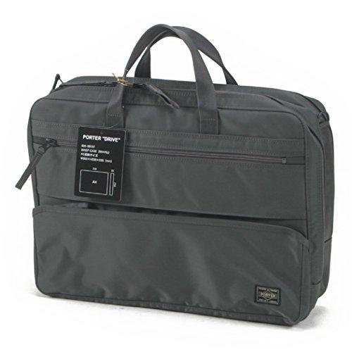 (ポーター) PORTER 2wayブリーフケース ビジネスバッグ ショルダーバッグ [DRIVE/ドライブ] 635-09157 2.グレー