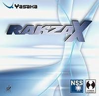 Yasaka ヤサカ ラクザX B-82 卓球ラケット用ハイブリッドエナジー型裏ソフトラバー ブラック 厚(2.0mm)