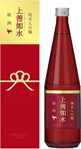 白瀧酒造 上善如水 純米大吟醸 原酒 瓶 箱入 720ml [新潟県]