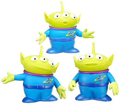 Disney toy / story real size interactive talking figure alien set