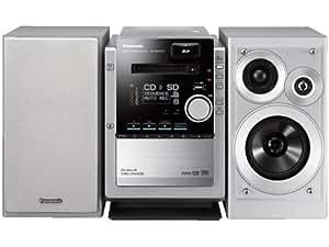 パナソニック DVD/SDステレオシステム D-dock シルバー SC-PM930DVD-S