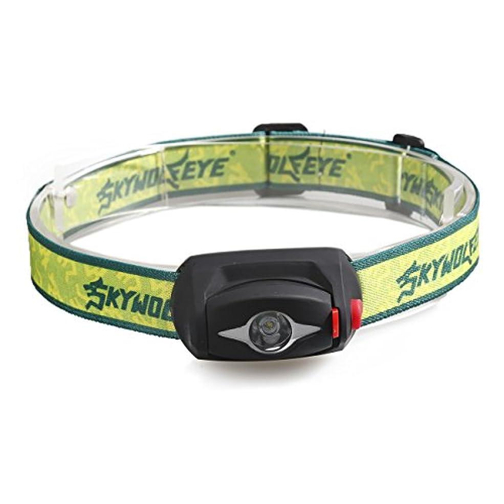 パースブラックボロウ離婚偽善ヘッドライト Yeezii LEDヘッドランプ 小型軽量 3モード 300ルーメンヘッドライト 夜釣り 工事 作業適用