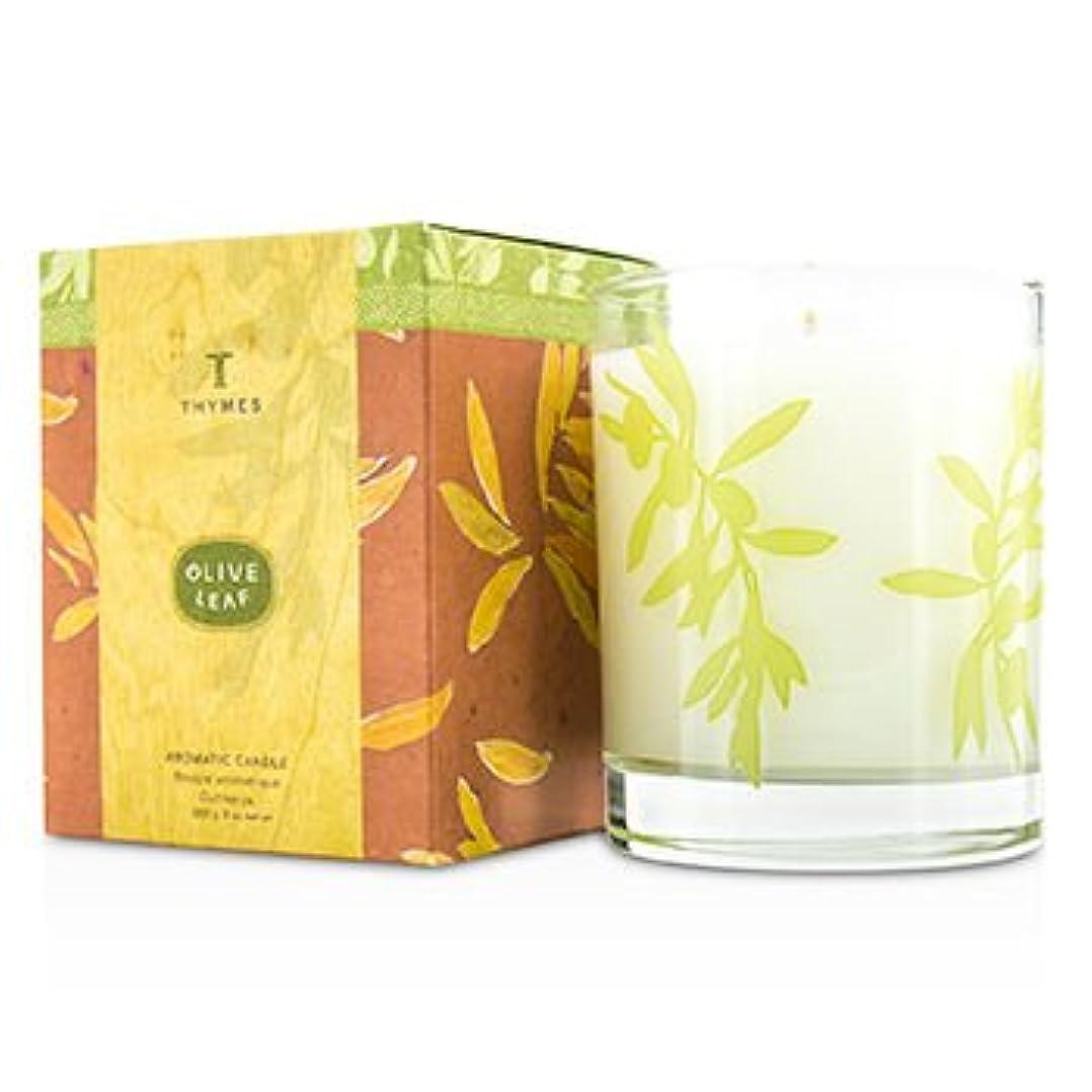 メロディアス傾斜首[Thymes] Aromatic Candle - Olive Leaf 255g/9oz