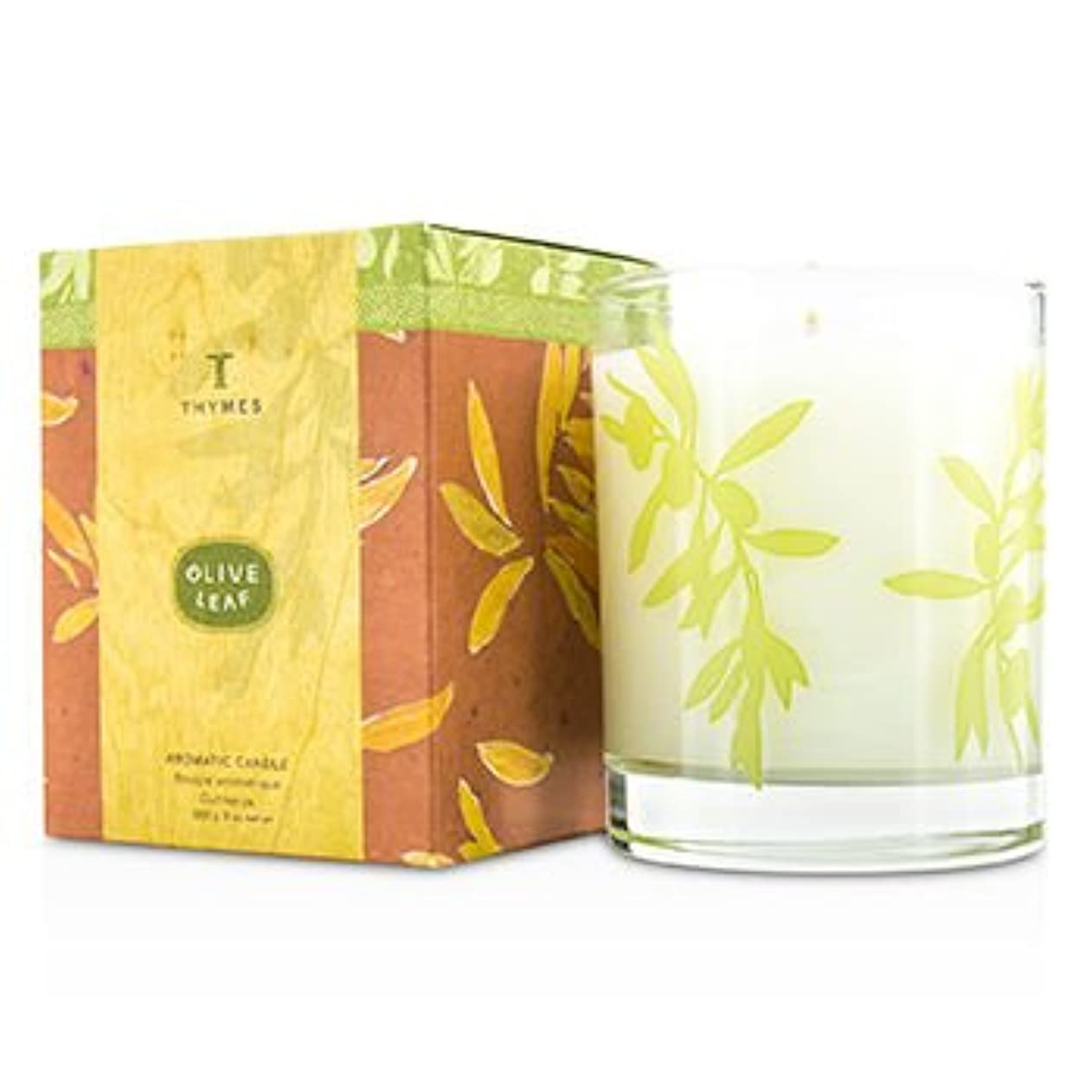 決して成長する文[Thymes] Aromatic Candle - Olive Leaf 255g/9oz