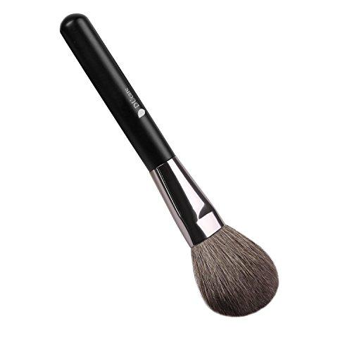 ドゥケア(DUcare) 化粧筆 山羊毛フェイスブラシ パウダー&チークブラシ 100%白尖峰