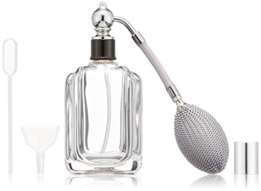 うぬぼれた涙慣性ヒロセアトマイザー フランス製香水瓶50ML メンズアトマイザーkuro 409873SS (50MLタクジョウ) CLSS