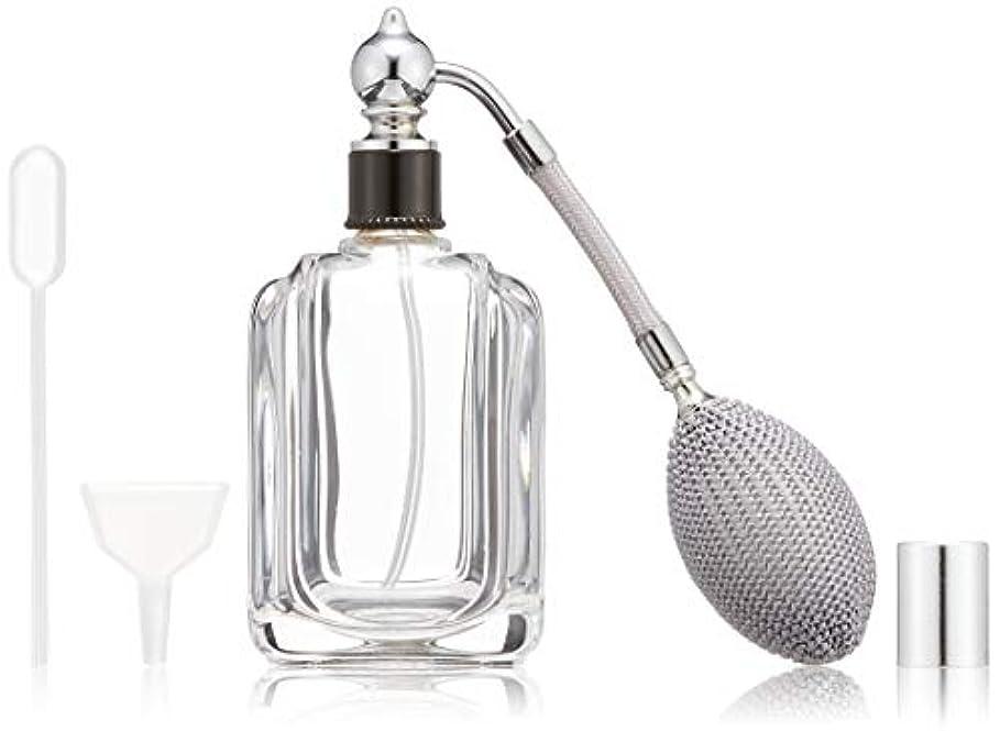 緊急下品似ているヒロセアトマイザー フランス製香水瓶50ML メンズアトマイザーkuro 409873SS (50MLタクジョウ) CLSS