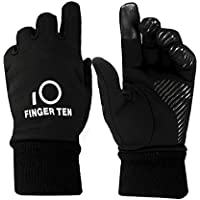 Finger Ten Junior Boys Girls Running School Warm Touchscreen 3M Winter Gloves Value Pack 1 Pair Set