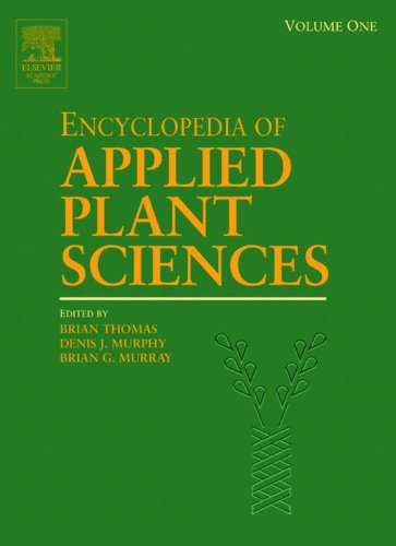 Encyclopedia of Applied Plant Sciences: 1-3