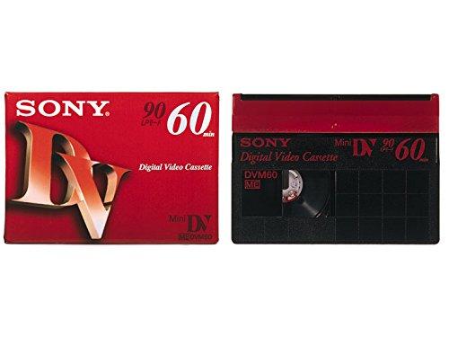 SONY ミニデジタルビデオカセット 5巻パック 5DVM60R3