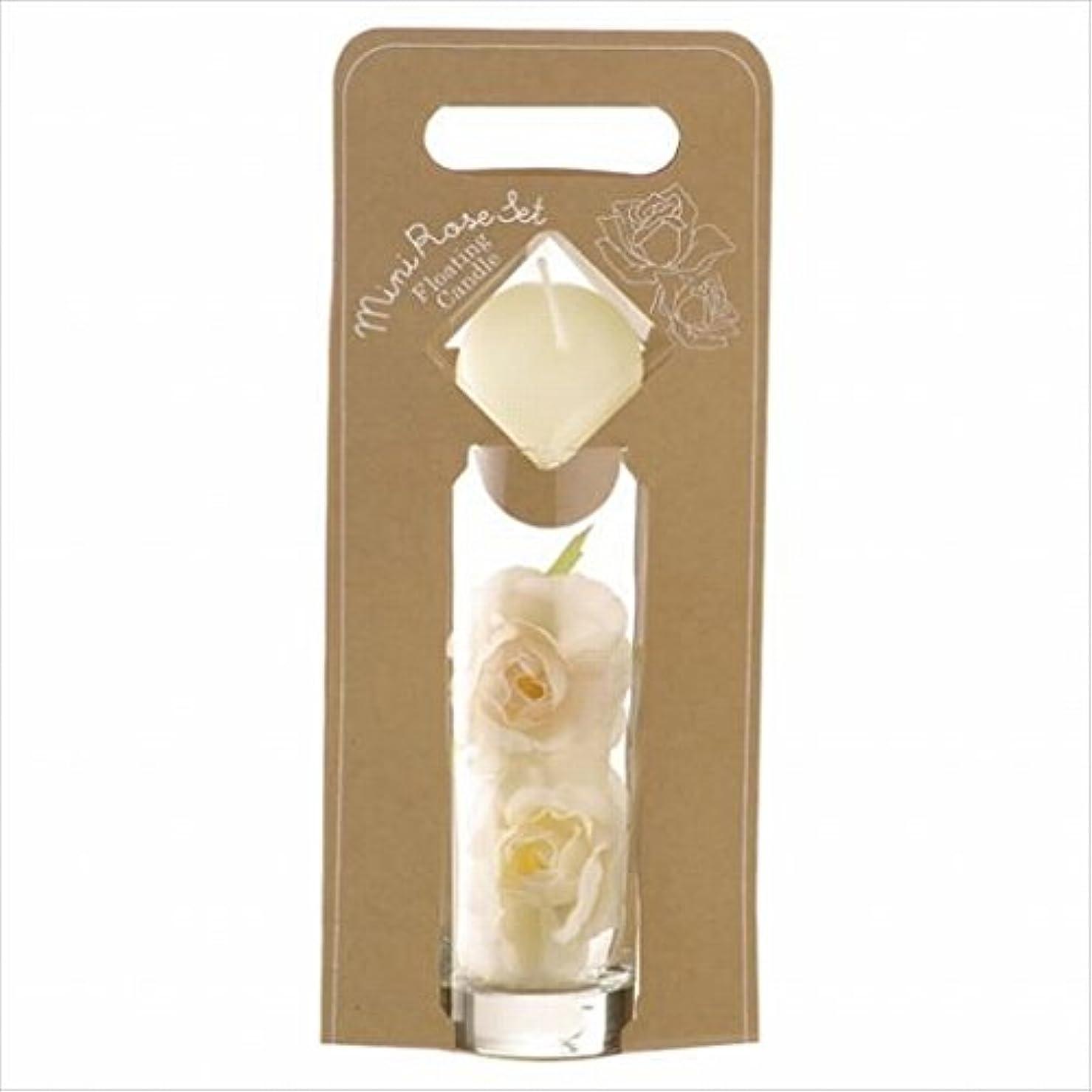 珍しいそばに狂気カメヤマキャンドル(kameyama candle) ミニローズセット 「 アイボリー 」