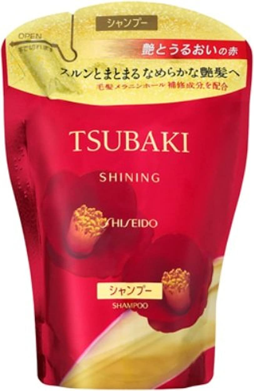 TSUBAKI シャイニングシャンプー つめかえ用 400mL