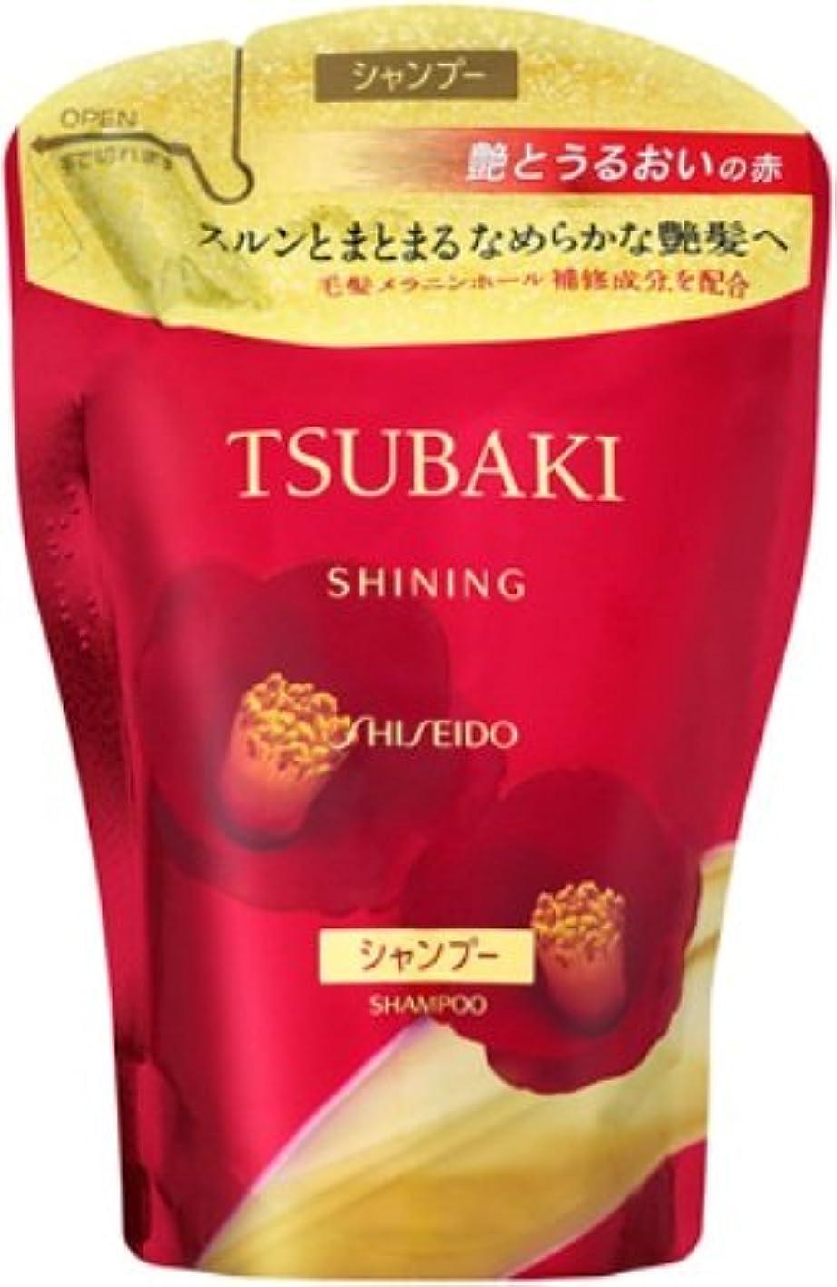 毒脚本放散するTSUBAKI シャイニングシャンプー つめかえ用 400mL